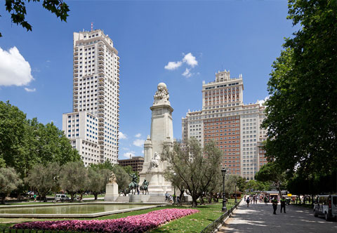 Plaza de España -Madrid-