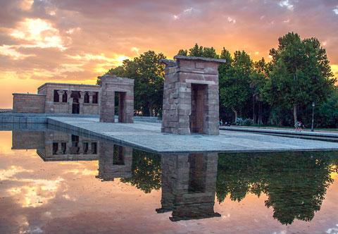 Templo de Debod -Madrid-